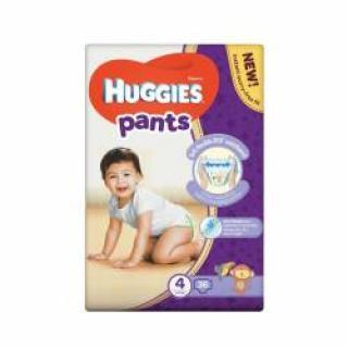 Huggies Pants Jumbo vel.4 9-14 kg plenkové kalhotky 36 ks