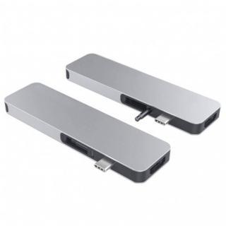 Hyper HyperDrive SOLO USB-C Hub pro MacBook a ostatní USB-C zařízení - Stříbrný, HY-GN21D-SILVER - zánovní