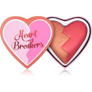 I Heart Revolution Heartbreakers tvářenka s matným efektem odstín Charming 10 g