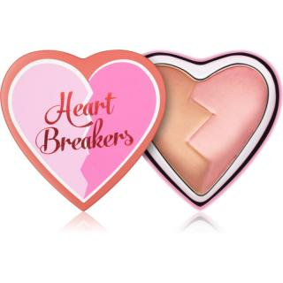I Heart Revolution Heartbreakers tvářenka s matným efektem odstín Creative 10 g