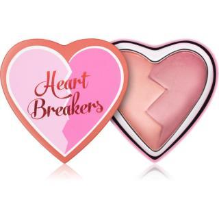 I Heart Revolution Heartbreakers tvářenka s matným efektem odstín Independent 10 g