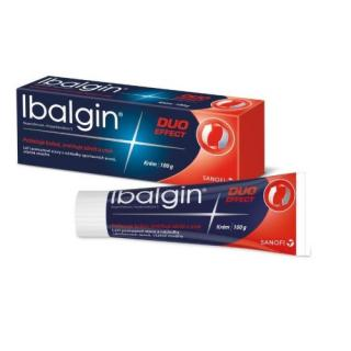 IBALGIN DUO EFFECT 50MG/G 2MG/G krém 100G