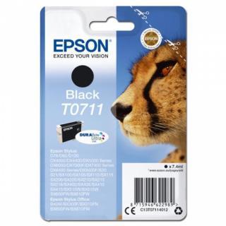 Inkoustová náplň Epson C13T07114012 černá