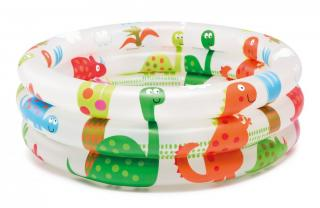 Intex 57106 Dětský bazén Dinosaurus 61x22cm - rozbaleno