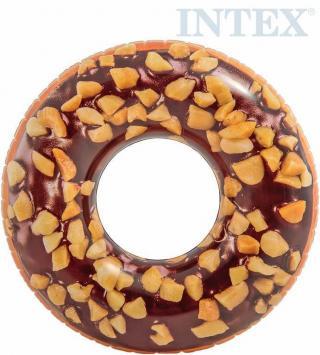 INTEX Kruh plavací donut čokoládový 114cm nafukovací dětské kolo do vody 56262