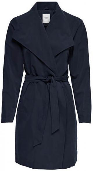 Jacqueline de Yong Dámský kabát Ida Drapy Jacket Otw Glo Sky Captain M