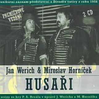 Jan Werich, Miroslav Horníček – Husaři CD