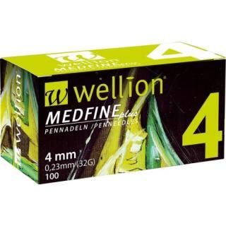JEHLY WELLION MEDFINE PLUS PRO VŠECHNA INZULÍNOVÁ PERA VEL.32GX4MM,100KS - II.jakost