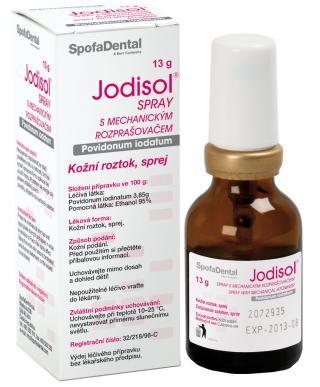 Jodisol Spray s mechanickým rozprašovačem 13g