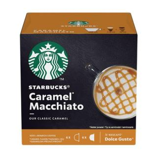 Kapsle pro espressa Starbucks CARAMEL MACCHIATO 12 ks