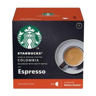 Kapsle pro espressa Starbucks MEDIUM ESPRESSO COLOMBIA 12Caps