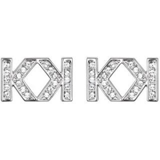 Karl Lagerfeld Krásné náušnice Double K 5448336