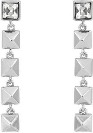 Karl Lagerfeld Luxusní náušnice Linear Pyramid 5420731