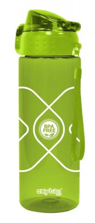 Karton P P Láhev na pití 600 ml TRITAN zelená - zánovní