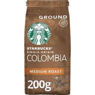 Káva mletá Starbucks MEDIUM COLOMBIA 200g