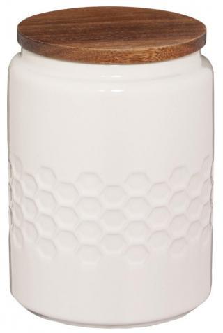 Kela Dóza MELIS keramika 0,8l krémová - zánovní