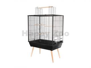 Klec pro ptáky ZOLUX Neo Jili černá 78x48x81cm