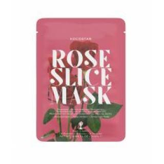 Kocostar Slice mask sheet Růže regenerační pleťová maska 20 ml