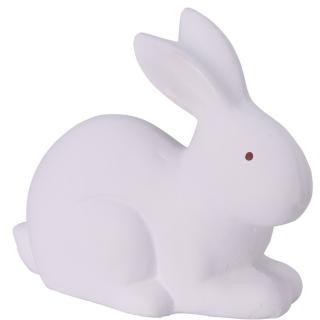 Koopman Keramický zajíček Doodle bílá, 16 cm