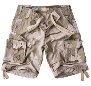 Kraťasy Airborne Vintage Shorts - desert, M