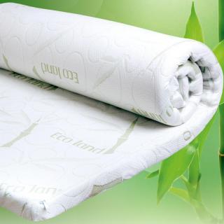 Krycí matrace z paměťové pěny BAMBOO Comfort 90 x 200 x 4 cm