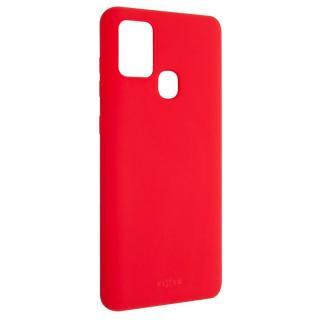 Kryt na mobil FIXED Story na Samsung Galaxy A21s červený