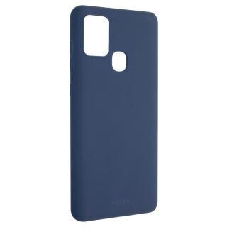 Kryt na mobil FIXED Story na Samsung Galaxy A21s modrý