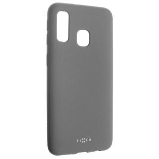 Kryt na mobil FIXED Story pro Samsung Galaxy A40 šedý