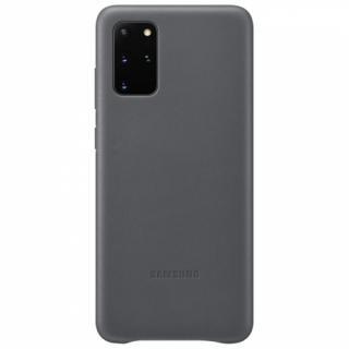 Kryt na mobil Samsung Leather Cover pro Galaxy S20  šedý