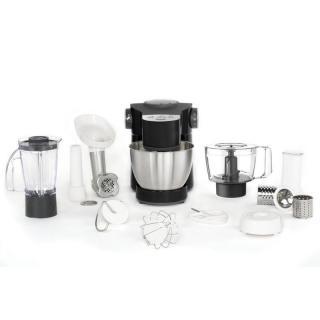 Kuchyňský robot Tefal Wizzo Equinox QB31E838 černý/chrom