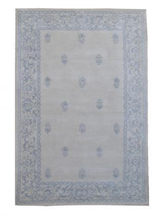 KUDOS Textiles Pvt. Ltd. Ručně všívaný vlněný koberec DO-10 - 160x230 cm Modrá