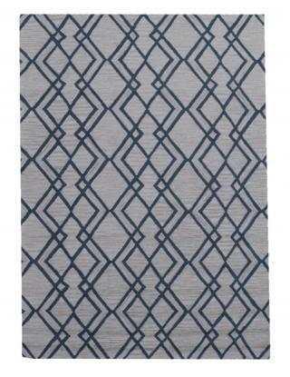 KUDOS Textiles Pvt. Ltd. Ručně všívaný vlněný koberec DO-13 - 160x230 cm Šedá