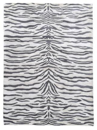 KUDOS Textiles Pvt. Ltd. Ručně všívaný vlněný koberec DO-19 - 160x230 cm Šedá