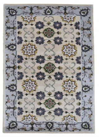 KUDOS Textiles Pvt. Ltd. Ručně všívaný vlněný koberec DO-21 - 160x230 cm Béžová