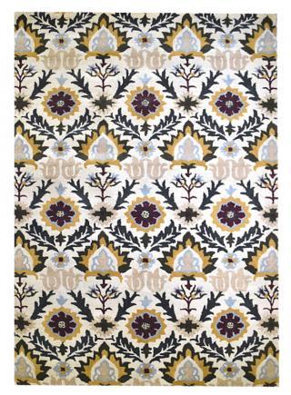 KUDOS Textiles Pvt. Ltd. Ručně všívaný vlněný koberec DO-26 - 160x230 cm Béžová