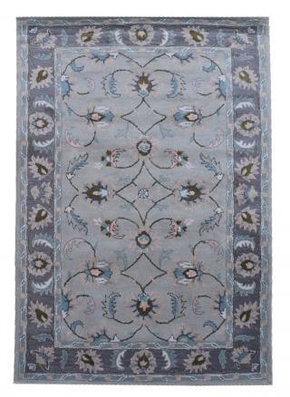 KUDOS Textiles Pvt. Ltd. Ručně všívaný vlněný koberec DO-28 - 160x230 cm Šedá