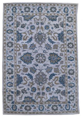 KUDOS Textiles Pvt. Ltd. Ručně všívaný vlněný koberec DO-32 - 160x230 cm Šedá