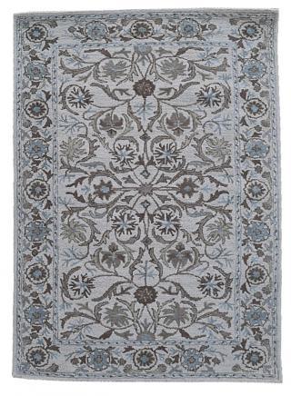 KUDOS Textiles Pvt. Ltd. Ručně všívaný vlněný koberec DO-33 - 160x230 cm Šedá