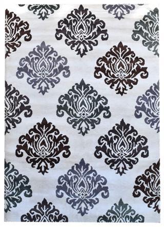 KUDOS Textiles Pvt. Ltd. Ručně všívaný vlněný koberec DO-36 - 160x230 cm Béžová