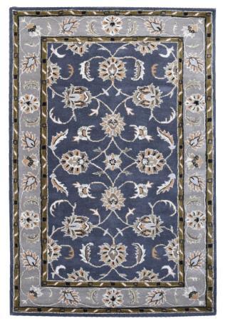 KUDOS Textiles Pvt. Ltd. Ručně všívaný vlněný koberec DO-47 - 160x230 cm Šedá