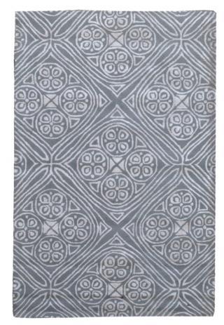KUDOS Textiles Pvt. Ltd. Ručně všívaný vlněný koberec DO-7 - 160x230 cm Šedá