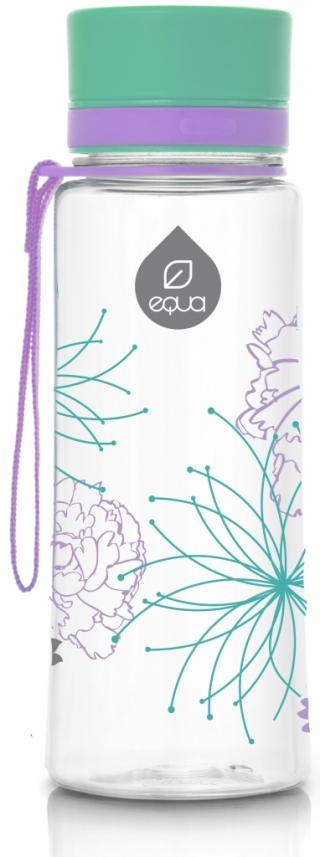 Láhev plastová Equa Flowers 0,6 l