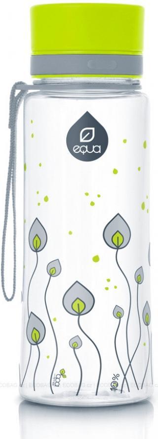 Láhev plastová Equa Leaves 0,4 l - zelená