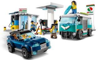 LEGO City 60257 Benzínová stanice - rozbaleno