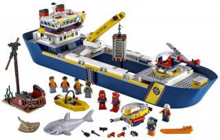 LEGO City 60266 Oceánská průzkumná loď - rozbaleno