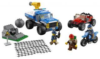 LEGO City Police 60172 Honička v průsmyku - rozbaleno