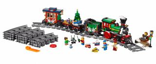 LEGO Creator Expert 10254 Zimní sváteční vlak - rozbaleno