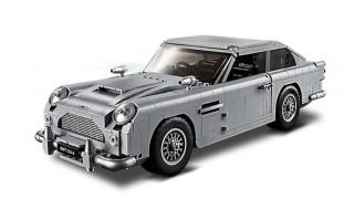 LEGO Creator Expert 10262 Bondův Aston Martin DB5 - rozbaleno