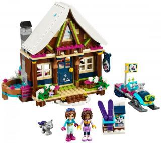LEGO Friends 41323 Chata v zimním středisku - zánovní