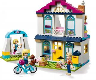 LEGO Friends 41398 Stephanie a její dům - rozbaleno
